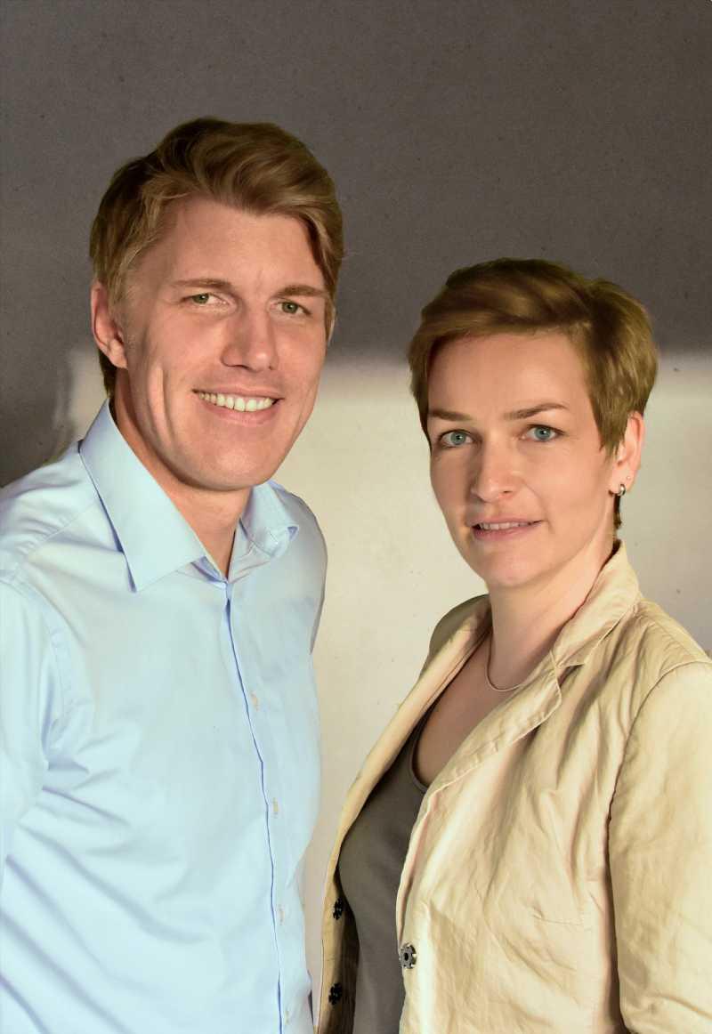 Melanie Brunner-Lamberty und Frank Lamberty -Das Team von Brandmaid