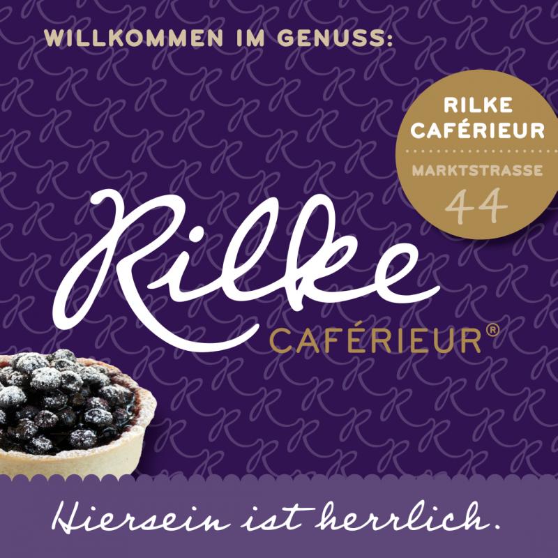 Rilke Caferieur in der Markstraße 44