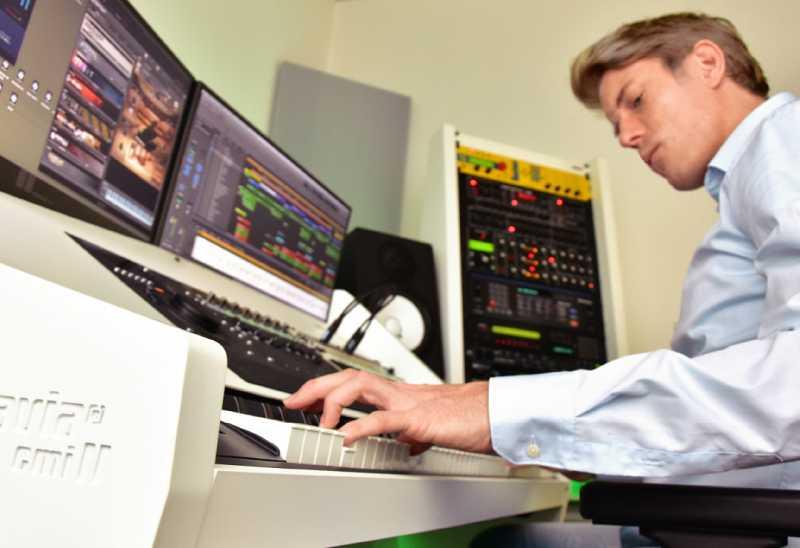 Frank Lamberty aus Wiesbaden, Geschäftsfrüher von Brandmai im Soundlab